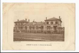 CPA 95 : ERMONT - L'école Des Garçons - Ermont