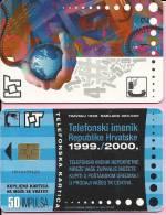 PHONECARD - Telephone Book Of Republic Croatia 1999./2000., 50 Imp., Croatia - Telefoni
