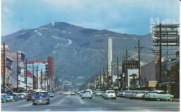 Glendale CA California, Street Scene, Autos, Bakery, Arthur Murray Dance Studio Signs, 1950s Vintage Postcard - United States