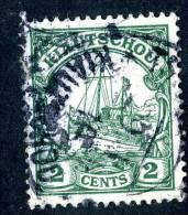 (828)  Kiauchau 1905  Mi.29 Used  Sc.34 ~ (2,50 Euros) - Colony: Kiauchau