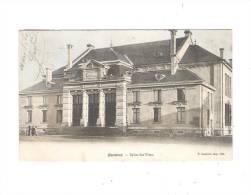 54 - Baccarat - Salle Des Fêtes - P. Laurent Imp édit - 1904 - Animation Fenêtre Ronde Oeil De Boeuf - Baccarat