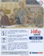 Telefonkarte Serbien  - Hochzeit Zu Kana Kloster Kalenic - Jugoslawien