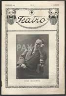 PORTUGAL - TEATRO - 1918 - N.º 2 - JOSE RICARDO - AMELIA REY COLAÇO - ROSA DAMASCENO - AMARELHE - See Drescription - Livres, BD, Revues