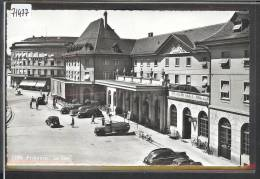 FRIBOURG - LA GARE - AUTOMOBILE - TB - FR Fribourg