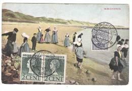 Postkaart Walcheren Gelopen Gepost In Dordrecht Naar Belgisch-Congo 1924 - Pays-Bas