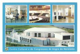 ANGRA Do HEROISMO - CENTRO CULTURAL E DE CONGRESSOS - TERCEIRA - AÇORES - PORTUGAL - 2 Scans - Açores