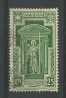 Ange 25c Vert Yt 326 - 1900-44 Victor Emmanuel III