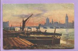 Royaume-Uni  - LONDON - Westinster Bridge And Houses Of Parliament - TUCK - Oblitérée En 1905 - Otros