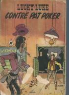 """LUCKY LUKE  """" CONTRE PAT POKER """"  -  MORRIS - E.O. 1953  DUPUIS - Lucky Luke"""
