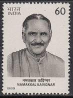 India MNH 1989, Namakkal Kavignar, Ramalingam Pillai, - India