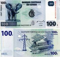 CONGO DR   100 Francs 2007  **UNC** - Congo