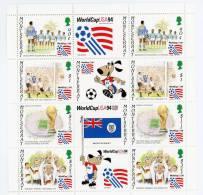 Montserrat-Coupe Du Monde De Football 1994-YT 830/33***MNH - World Cup