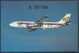 - CPM - Carte Postale - Thaïlande - Avion A 300 B4 - - 1946-....: Modern Era
