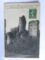 CPA (10) Aube - Environs De NOGENT Sur SEINE - Ruines Du Château De Foujon - Nogent-sur-Seine