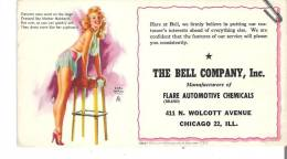 The Bell Company, Inc. Manufacturers Of Flare Automotive Chemicals, Chicago 22, Illinois - Automotive
