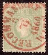 AUSTRIA 1858/59 - Yvert #13 - VFU - Usados