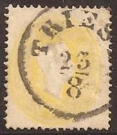 AUSTRIA 1861 - Yvert #17 - VFU - 1850-1918 Imperio