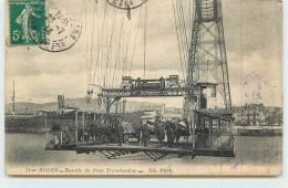 ROUEN  -    Nacelle Du Pont Transbordeur. - Rouen