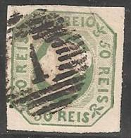 PORTUGAL 1853 - Yvert #3 - VFU - 1853 : D.Maria