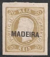 PORTUGAL/MADEIRA 1868 - Yvert #2 - MLH * - Madeira