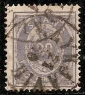 ISLANDIA 1876 - Yvert #10 - VFU - 1873-1918 Dependencia Danesa