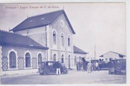 PORTUGAL ALGARVE LAGOS ESTACÃO DE COMBOIO  CAMINHO DE FERRO    2 SCANS - Stazioni Senza Treni