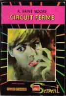 Artima - Serpent N°55 - A Saint-Moore - Face D'Ange - Circuit Fermé - Arédit & Artima