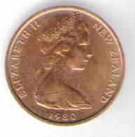 NUOVA ZELANDA 1 CENT 1980 - Nuova Zelanda