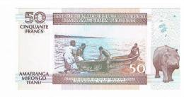 BILLET DE BANQUE 50 FRANCS AMAFRANGA MIRONGO ITANU BURUNDI - Burundi