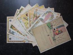 Lot 10 Télégrammes Belge (M30) 1953 (11 Vues) De Ciney, Spontin, Liège, Den Haan, Haversin, Anhée, Fleurus Etc à Ciney - Mitteilung