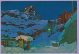 Cpm CERVINIA - BREUIL : Nocturne  ; Notturno - Unclassified