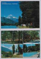 Lot De 2 Cpm SARRE : Camping International Touring - Unclassified