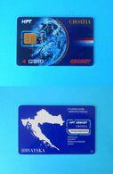 CRONET - Croatia Old Very Rare GSM SIM Card * USED CARD - COMPLETE WITH CHIP * HT Croatian Telecom HPT - Kroatië