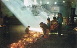 Interior De La Iglesia De Chichicastenango  El Quiche - Guatemala