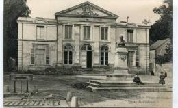CPA 72 SAINT CALAIS PALAIS DE JUSTICE BUSTE DE POITEVIN - Saint Calais