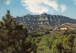 Rep. Di San Marino - Monte Titano, 1979,timbres Au Dos - Saint-Marin