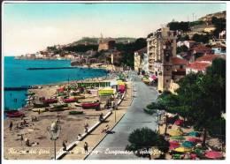 Liguria Imperia Arma Di Taggia Lungomare E Spiaggia - Imperia