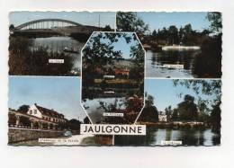 CPSM 02 : JAULGONNE Multi Vues   1965     VOIR  DESCRIPTIF §§§§ - France