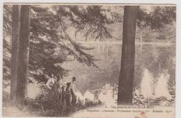 Vue Générale Du Lac De La MAIX - France