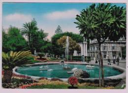 Cpm  CATANIA : Villa Bellini ; Vasca Dei  Cigni - Bassin Des Cygnes1957 - Catania