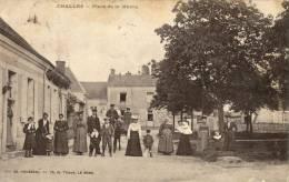 72 Challes. Place De La Mairie - France