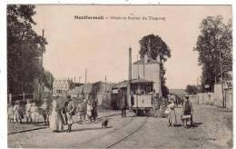 MONTFERMEIL/93/Dépôt Et Station Du Tramway/Réf:1299 - Montfermeil
