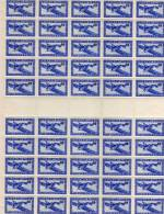 INDOCHINE YT PA34 - PA 34 FEUILLE ENTIERE NEUF 50 TIMBRES - Luftpost