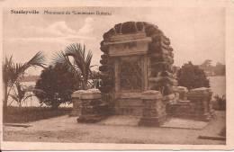 """Stanleyville - Le Monument Du """"Lieutenant Dubois . - Kinshasa - Leopoldville"""