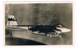 VT-215  GLOSTER  METEOR ( RAF VZ460) ( RPPC) - 1946-....: Moderne