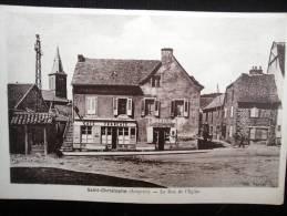SAINT CHRISTOPHE LA RUE DE L'EGLISE - France