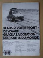 """Publicité Ads 1973 """" Automobiles RENAULT 4 """" - Advertising"""