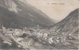 1575 Modane Gare Vue Generale  Fourneaux Train Ferroviaire 10.8.1906 To Oulx Deux Punch - Modane