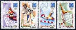 ROMANIA 2004 Athens Olympic Games  MNH / **.  Michel 5853-56 - 1948-.... Republics