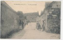 49 --- SAINT SULPICE   La Rue Principale   ANIMEE - Autres Communes